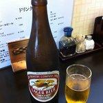 とんかつ ひろ喜 - ビール 500円