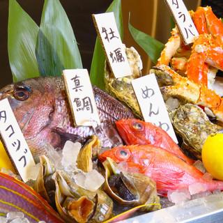 北海道の旬食材を満喫