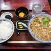 吉野庵 - 料理写真:たぬきそばのセット¥750-