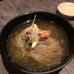 京・黒桜 - 特製冷麺