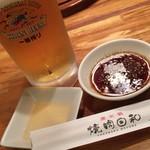 焼肉日和 - 料理写真:生ビール
