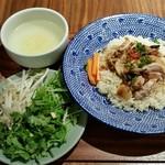 83193610 - コムガー(ヴェトナム鶏飯)。