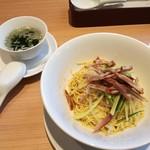鼎泰豊 - 2018年2月:ガンバン麺(スープ付き)(\1000+税)