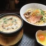 83194619 - 鶏すきやき風つけ麺