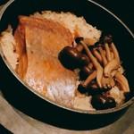 サクラマスの「釜飯」