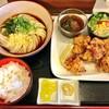 荒木伝次郎 - 料理写真:唐揚げおろしポン酢ランチ