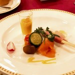 マゼランズ - 料理写真:オードヴルの盛り合わせ