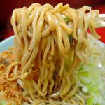 ラーメン二郎 - ねぎ汁なし・ニンニク(840円)