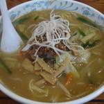 広野ドライブイン - 料理写真:味噌ラーメン