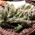むらむすび - 明日葉の天ぷら