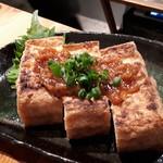 むらむすび - 厚揚げの糀南蛮味噌焼き