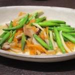 ベジ ハウス - 炒季節青菜(季節野菜)