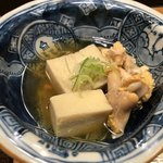 鮨処 祭 - 高野豆腐と平目の卵