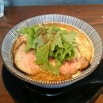 83205810 - トリュフ香る鶏と鯛の魚介節パンチそば 麺大盛