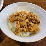 穀雨 - 穀雨(気まぐれごはん180円 ※豚生姜焼き丼)