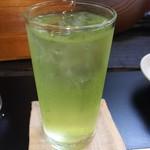 酒蔵 ひなよし - 緑茶割り