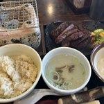 圭助 - 特上厚切り牛タン焼き定食