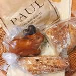 PAUL - 今回GETしたパン達。昔はPAULのパンが随分おしゃれで高級に見えたものですが…