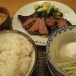 牛タン(極)定食
