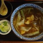 そば処加賀 - 料理写真:カレー南そば 800円