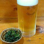 大衆酒場 亀屋 - 生ビール