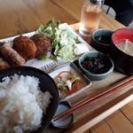 離島キッチン - 島の海鮮フライ定食