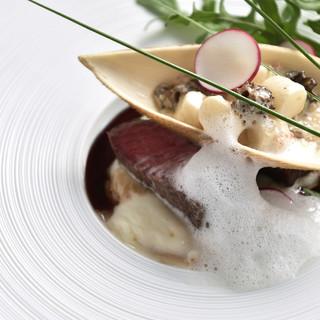 ASOのイタリア料理を継承する美味しく、楽しい料理の数々