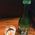 丸八焼鳥店 - 生酒(吉の川)