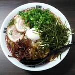 豚骨食堂 - 油そば680円+1.0玉増し200円