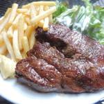 肉ビストロ&クラフトビール ランプラント - ランチのアンガス牛ステーキ