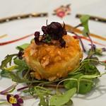トゥ・ラ・ジョア - 新玉葱の一皿
