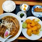 中華料理 喜多郎 - エビマヨ定食