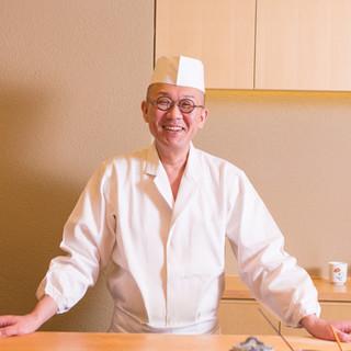 田村光明氏(タムラミツアキ)─努力と信念で自らの鮨道を究める