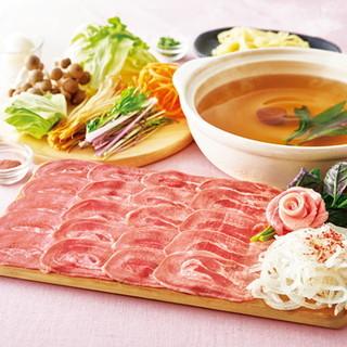 紀州梅しゃぶだしのたんしゃぶ食べ放題コース