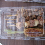 やきとり鳥仙 - 料理写真:つくね、ニンニク間、ホルモン
