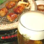 ホルモン'S - ホルモン&ビール!鉄板です!