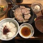 豚ステーキ十一 - 豚ステーキ定食1,000円