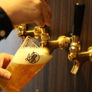 国産クラフトビールを「樽生」でどうぞ♪<13種類>もご用意◎