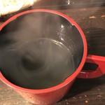 あずみの庵 - 蕎麦湯
