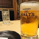 83224909 - 生ビーはザモルツ、量は多い