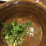 ベジポタつけ麺えん寺 - 濃厚なスープ