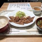 マツザカ デリカテッセン ミートアンドベジタブルズ - 炭焼定食☆