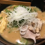 玄屋 - 酒粕拉麺(800円)