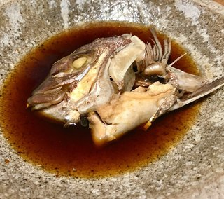 魚匠 銀平本店 - おまかせ定食の煮魚は鯛の頭(^○^)   間違い無いですね