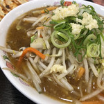 餃子の王将 - 野菜煮込みラーメン
