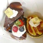 洋菓子工房 ながた - 料理写真:購入したケーキ