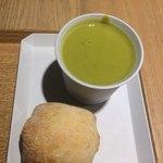 CITRON - ランチについてくるスープとパン