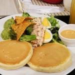 ラナイカフェ - 料理写真:コブサラダパンケーキ