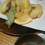 和食みやたけ - たこの天ぷら