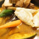 ローストビーフ丼&スープカリー くまちゃん - 揚げ餃子